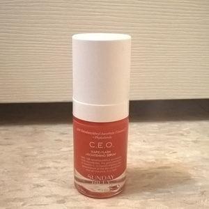 Sephora Makeup - Sunday Riley C.E.O. Rapid Flash Serum 15ml NEW